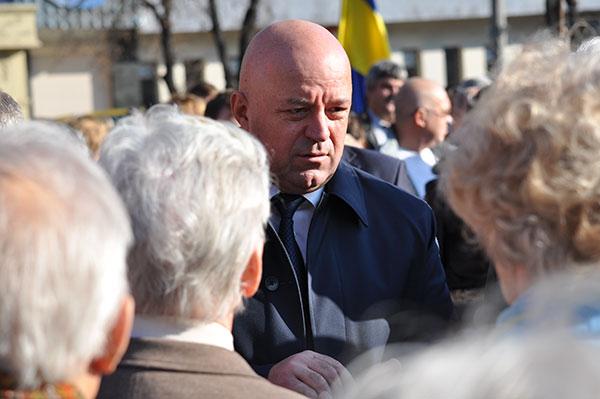 Василь Ядуха і ветерани. Фото Віталія Тараненка