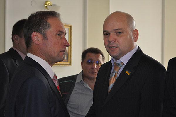 Валерій Лесков і Костянтин Чернилевський. Фото Віталія Тараненка