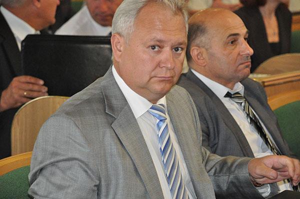 Голова Красилівської РДА Петро Арсенюк