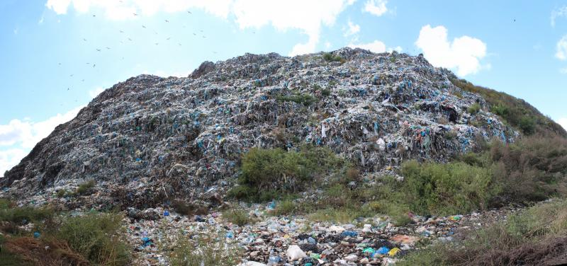Хмельницьке сміттєзвалище. Фото ye.ua