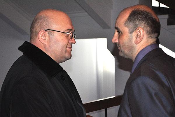 Леонід Прус та Іван Гончар. Фото Віталія Тараненка