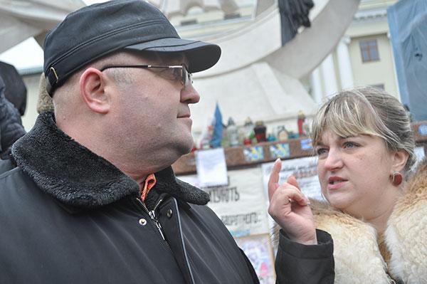 Леонід Прус і Леся Стебло. Фото Віталія Тараненка