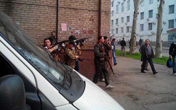 Луганські терористи. Фото автора
