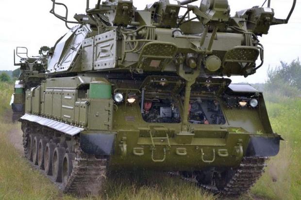 ЗРК Бук-М1 проходить випробування. Фото Міноборони