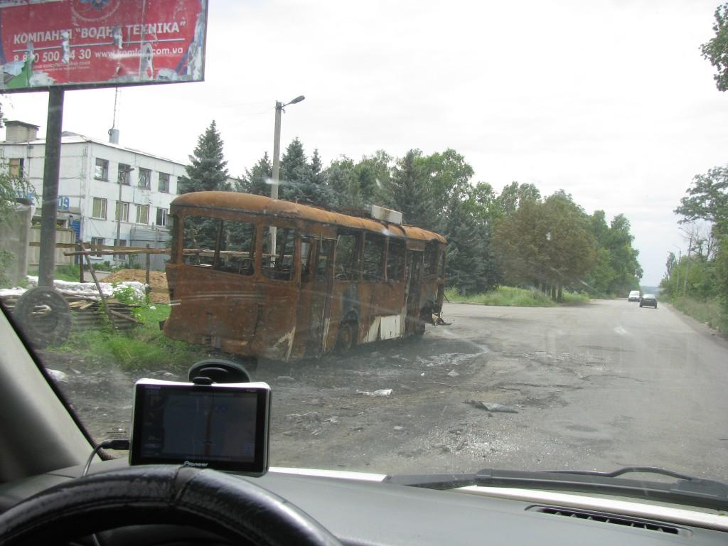 Крамоторськ, автобус не доїхав до пункту призначення