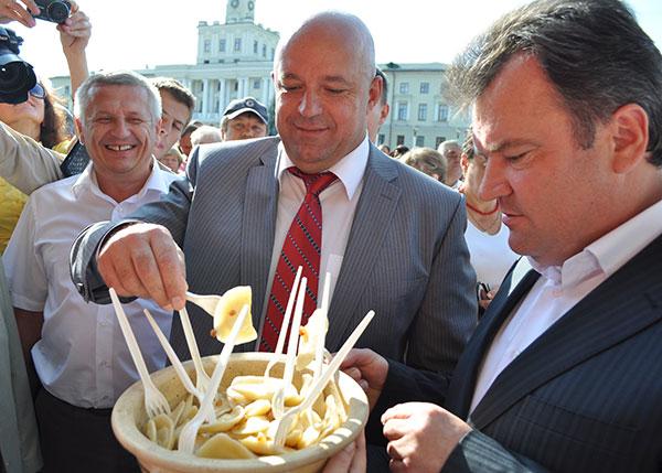 Василь Ядуха і Сергій Мельник. Фото Віталія Тараненка