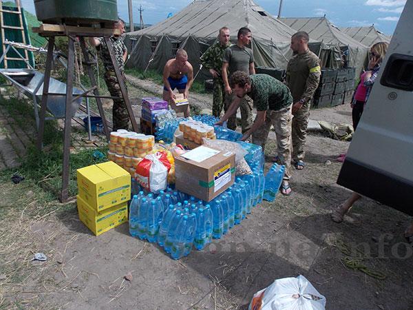 Гуманітарна допомога 8 полку