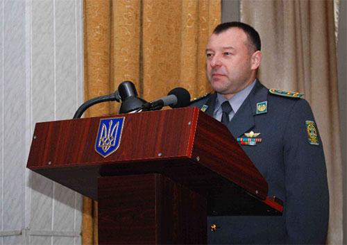 Олег Шинкарук. Фото прес-служби прикордонної академії