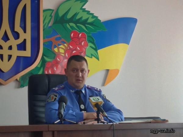 Головний міліціянт Хмельницького Валерій Онісьєв