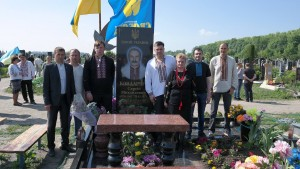 фото на могилі Героя Бондарчука