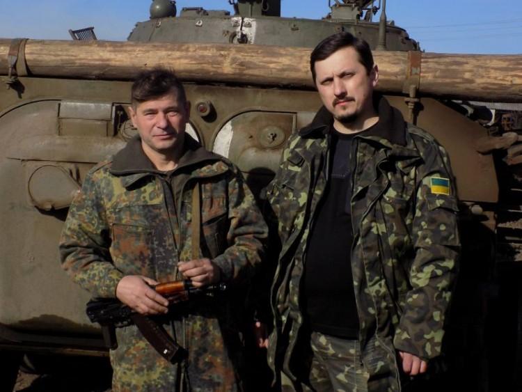 Шевчук Володимир (ліворуч)