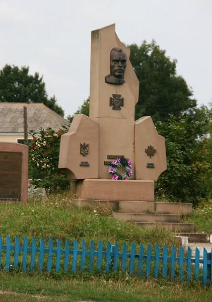 Пам'ятник кавалерові Коновалу