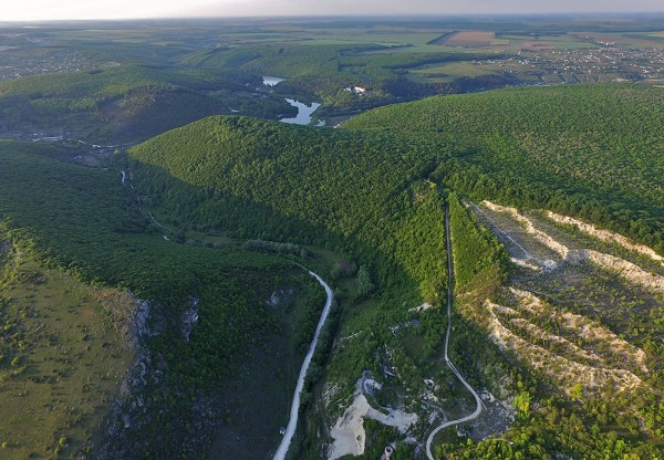 Кармалюкова гора згори