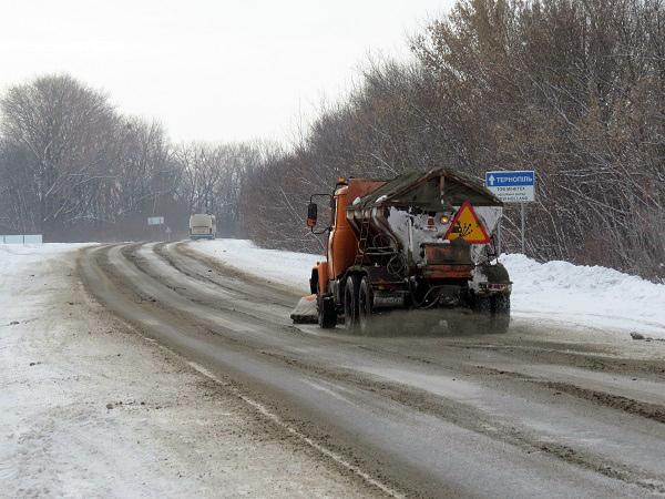 Фото Служби автодору в області