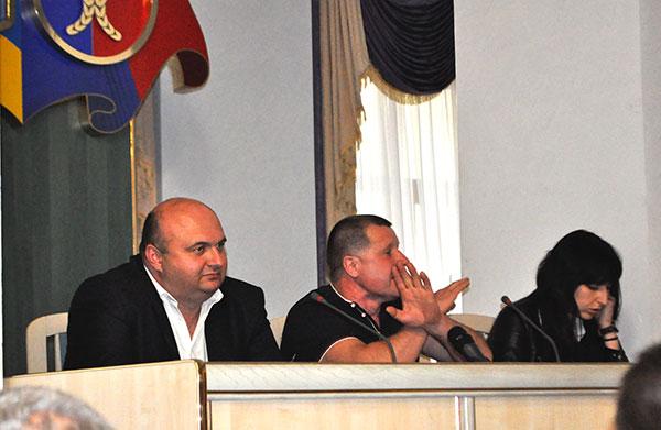 Олександр Корнійчук і Алім Міщук (зліва направо). Фото Віталія Тараненка