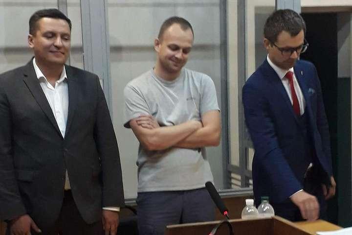 Дмитро Сус (по середині). Фото Bihys.info