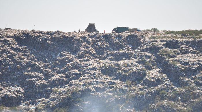 Хмельницький полігон твердих побутових відходів. Фото Віталія Тараненка