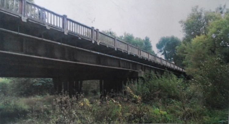 Аварійний міст у Хмельницькому
