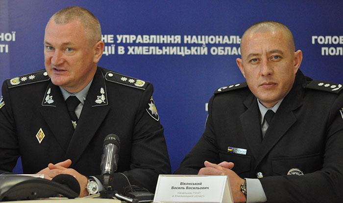 Сергій Князєв і Василь Віконський. Фото Віталія Тараненка