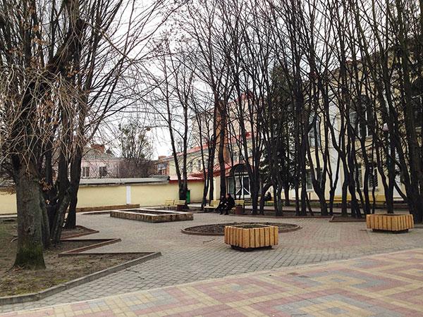 Сквер імені Кузьми Скрябіна