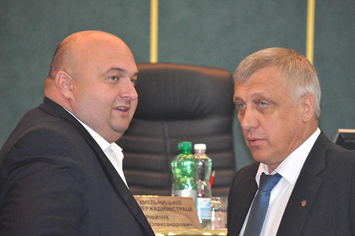 Олександр Корнійчук і Михайло Загородний. Фото Віталія Тараненка